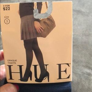 HUE Accessories - Hue Opaque Navy Tights